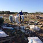 Dump site clean up