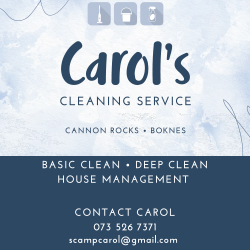 Carol's cleaning service